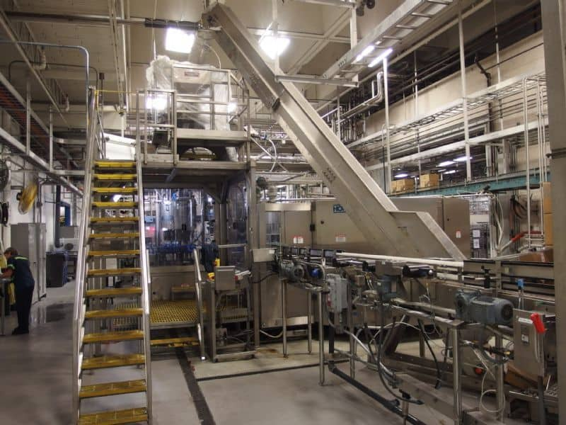 AVE and Zalkin Bottle Rinsing Filling and Capping Line (Triblock)