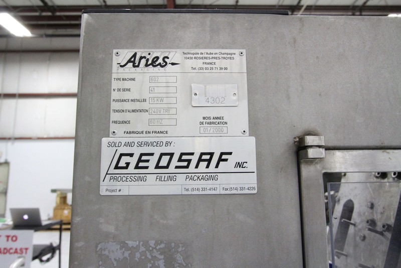 Aries Packaging Over Wrapper (Sleever) Model 602