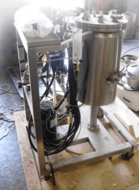 Inox Tech S/S Skid Mounted Jacketed Fermenter