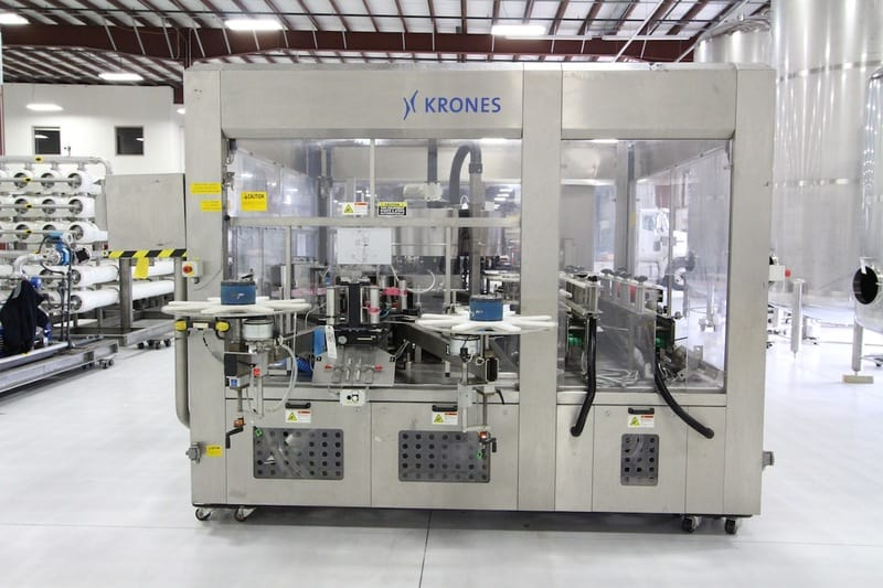 2007 Krones Contiroll Roll Fed Labeler