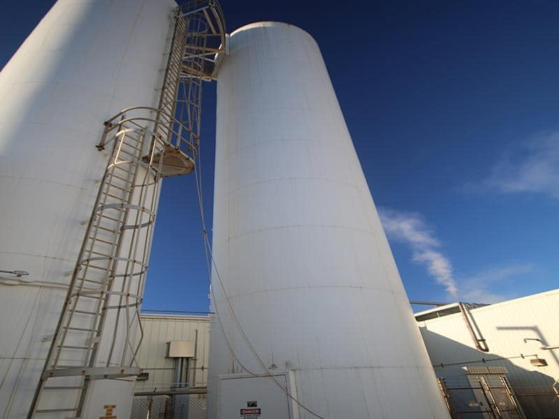 RESIN SILOS | M Davis Auctions, Equipment, Pittsburgh