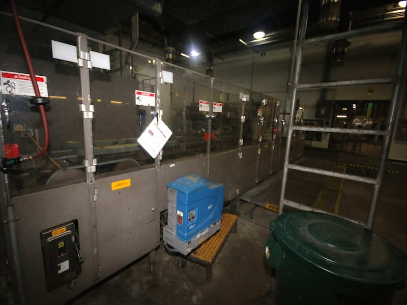 CASE PACKING AREA  | M Davis Auctions, Equipment, Pittsburgh
