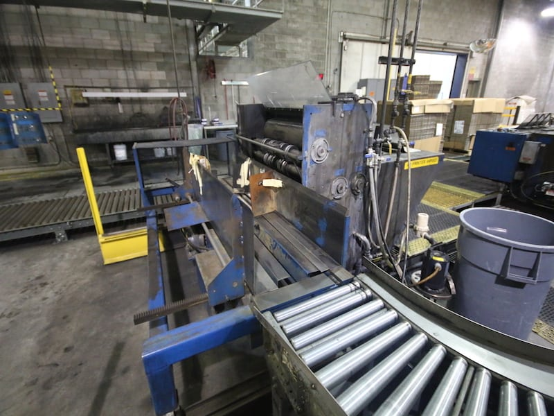CARDBOARD PAD PRINTING AREA | M Davis Auctions, Equipment, Pittsburgh