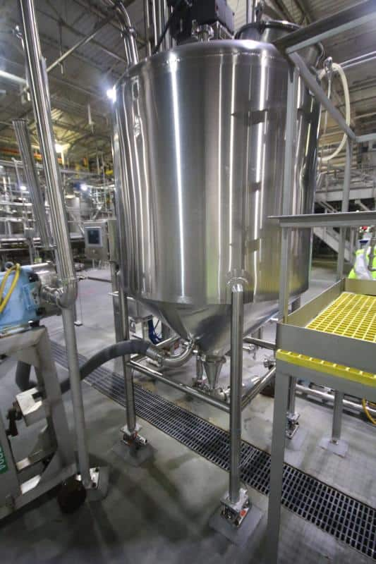 Surplus to Nestlé: Pureed Foods Processing and Glass Bottle Filling Lines
