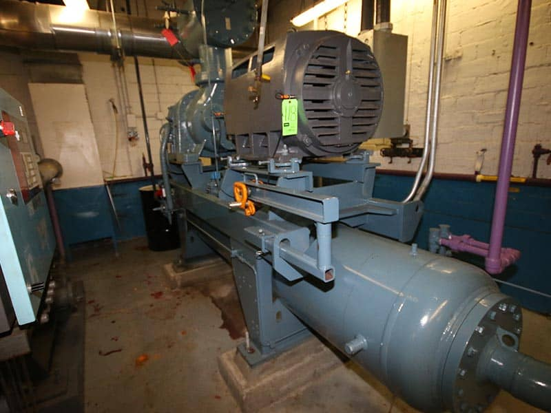 M Davis Auctions | NH3 Screw Compressors | M Davis Pittsburgh