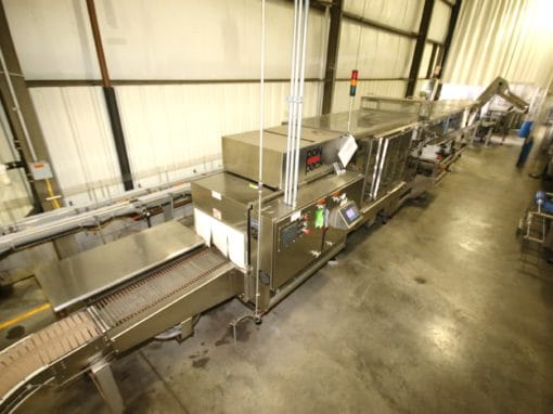 Absolute Above Opening Bid: (2) 2008 Polypack, MRM Elgin Inline Screw Capper, ELF 12-Head Inline Filler – All Late Model!