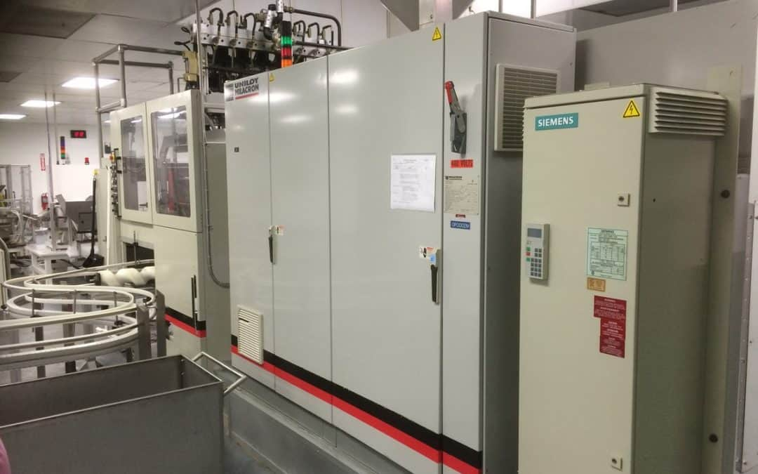Immediately Available: R-2000 Blow Molder