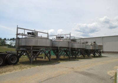 Auction: Cranberry Processing and Infusion Tanks, Mixing Tanks and Silos