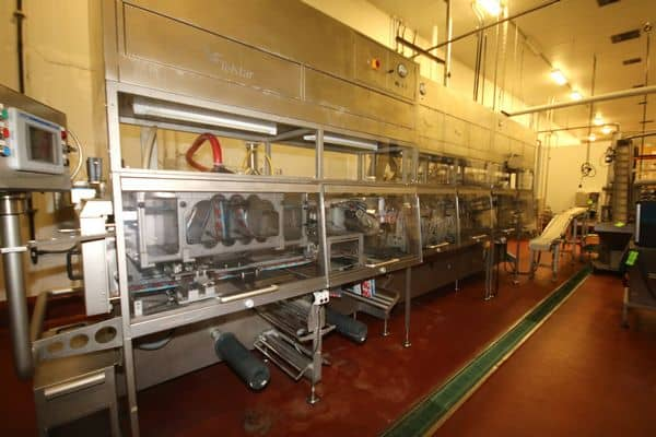 Immediately Available for Negotiated Sale: 2012 Pureed Foods Pouch Filling Lines