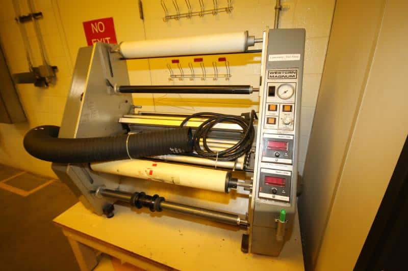 Additional Equip - Western Magnum Table Top Laminator