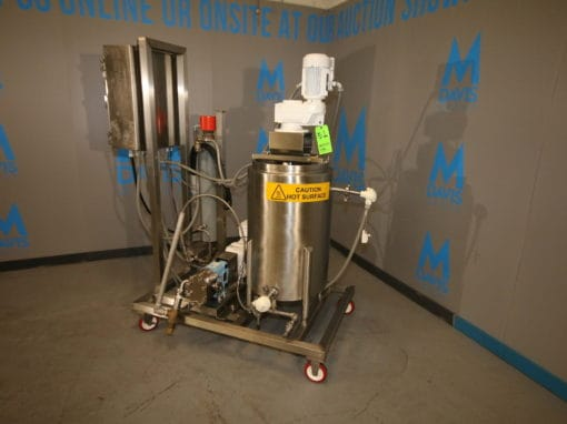 Large Dairy, Food & Fluid Processing Equipment Auction at M Davis Group Showroom
