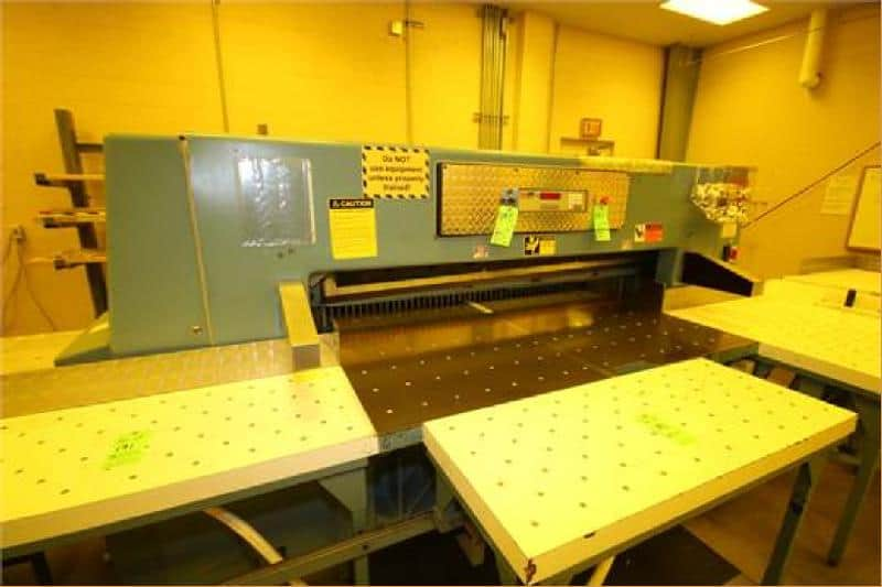 Guillotines, Coating, Slitting and Drying Operation – Everything Must Go!