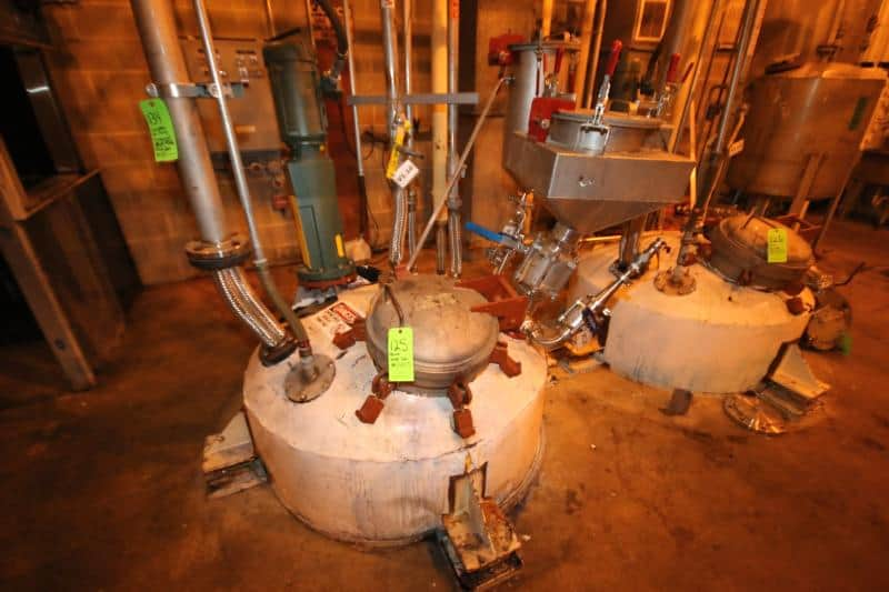 Complete Chemical / Polymer Processing Facility – Everything Must Go!