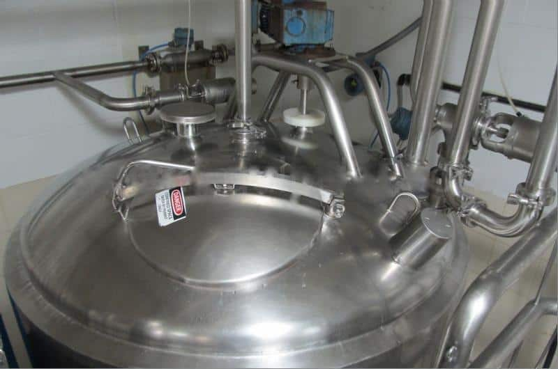 Mueller 800 Gallon Stainless Steel Jacketed Processing Tank