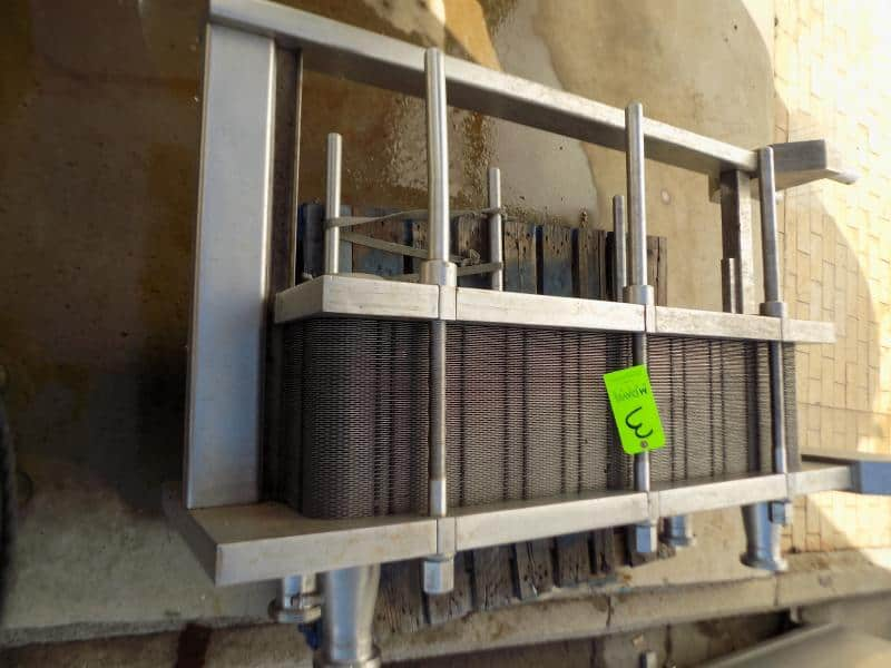 Arsopi Thermal 572 L S/S Plate Heat Exchanger, Model CH20-HP-89, S/N 2786TH with S/S Plates, MWP 10.5 Bar, MAWT 100 Degree C Bar Max : 10.5