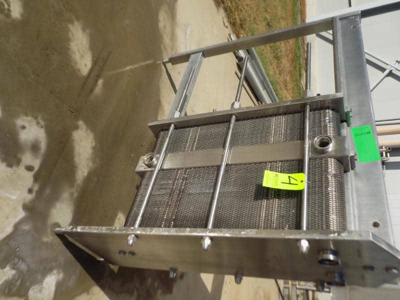 S/S Plate Heat Exchanger with 2-Sections (120) S/S Plates