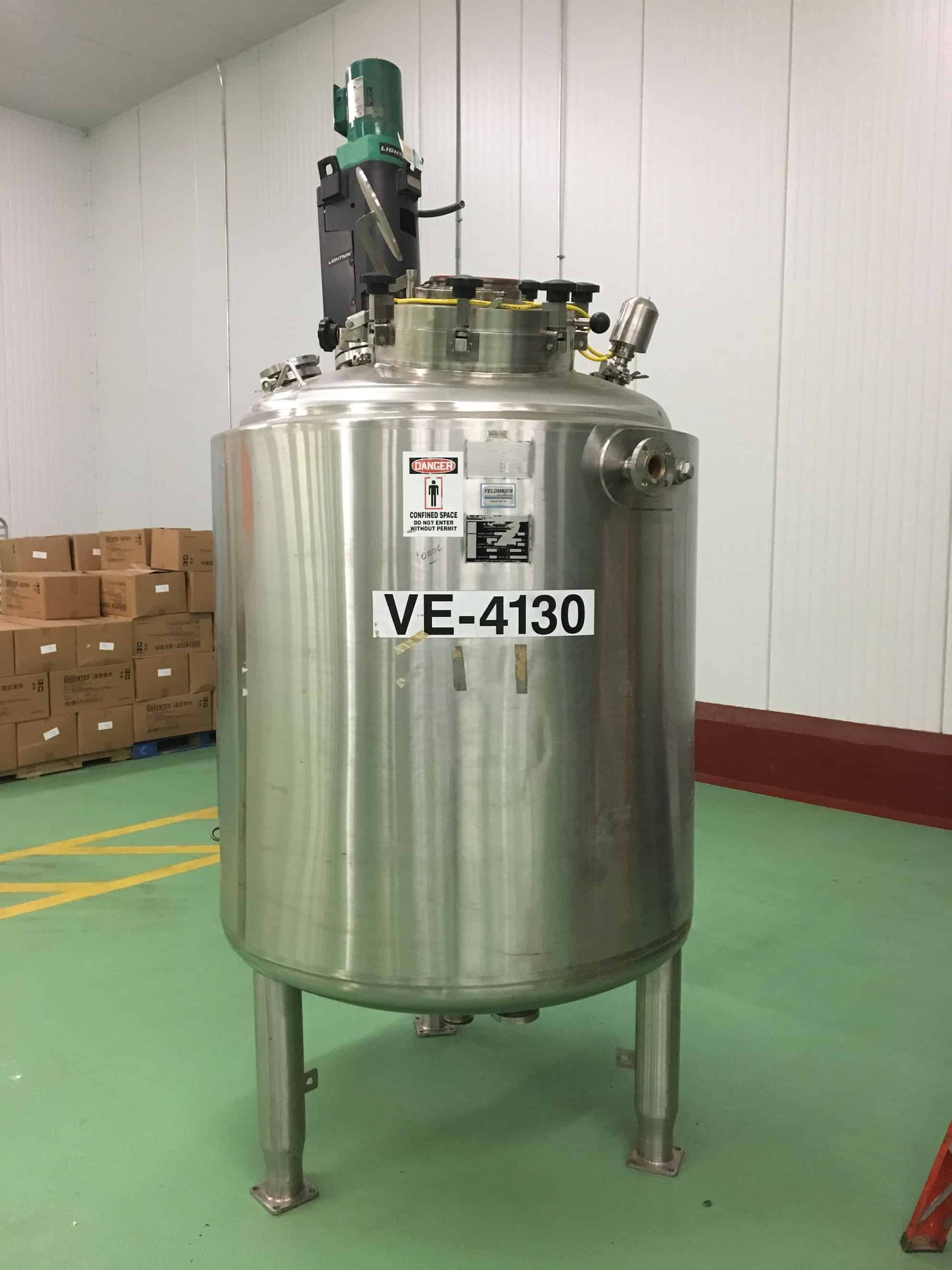 Feldmeier 1,472 Liter Processor Kettle with Lightning Agitator Mixer (Located in New Jersey)