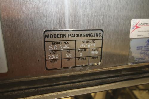 "Modern Packaging 8-Station Rotary Cup Filler, M/N SR8DC, S/N MP674, with Allen Bradley Micrologix 1500 Controls, 230 Volts, 3 Phase, 4.5"" Dia. Cups"