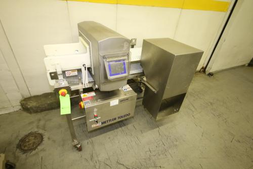 "Mettler Toledo Safeline Metal Detector and X-Ray, M/N R-PROSS, S/N 120286, Detection Opening: Aprox. 16"" L x 9"" W with Aprox. 14"" L x 59"" W Belt Conveyor, S/S Clade Drive"