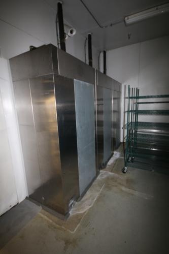 Traulsen S/S 3-Door Blast Chiller, M/N TBC1H-X0021, S/N T063821I5, with (3) 3-Fan Blowers, with On-Unit Condensers