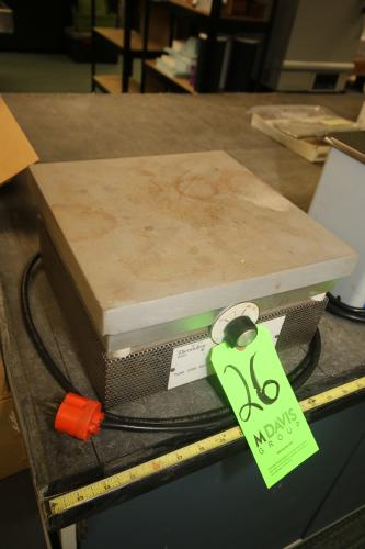 """Sybron/Thermolyne Hot Plate, Type 2200, 12"""" L x 12"""" W Surface Area"""