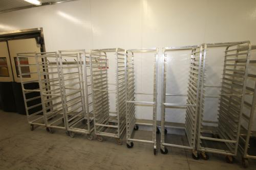 Assorted Portable Pan Racks