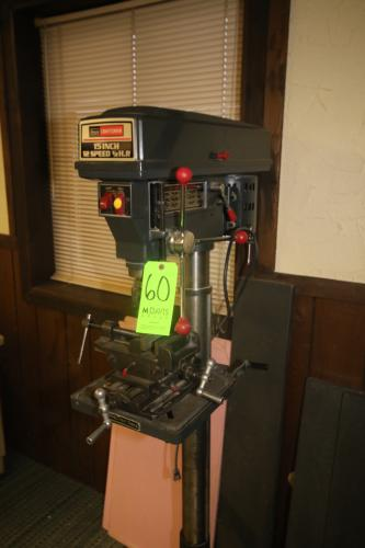 """Craftsman 15"""" Drill Press, with Vise"""