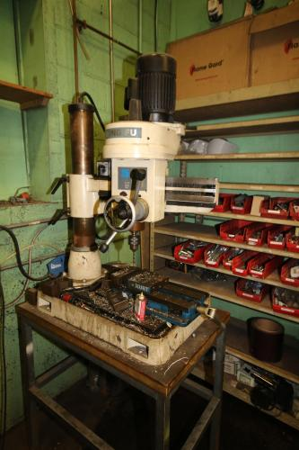 Rong Fu Drill Press, with Vise