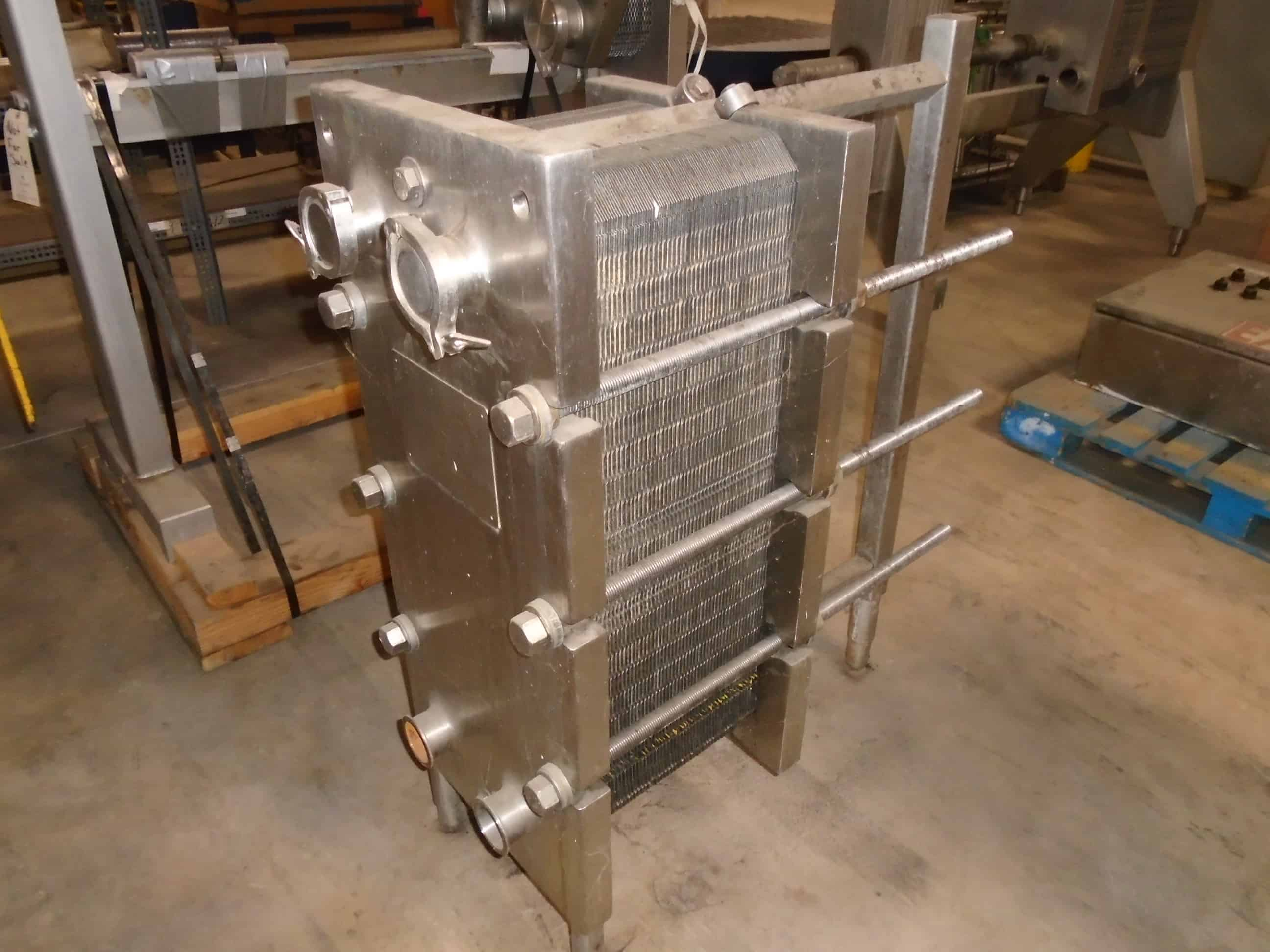 APV Single Section Plate Heat Exchanger, Model SR250-S, S/N 25371