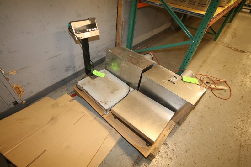 "Mettler Scale, Type 1D1 Multi-Range, S/N 1854529 with Aprox. 20"" x 15-3/4"" Platform"