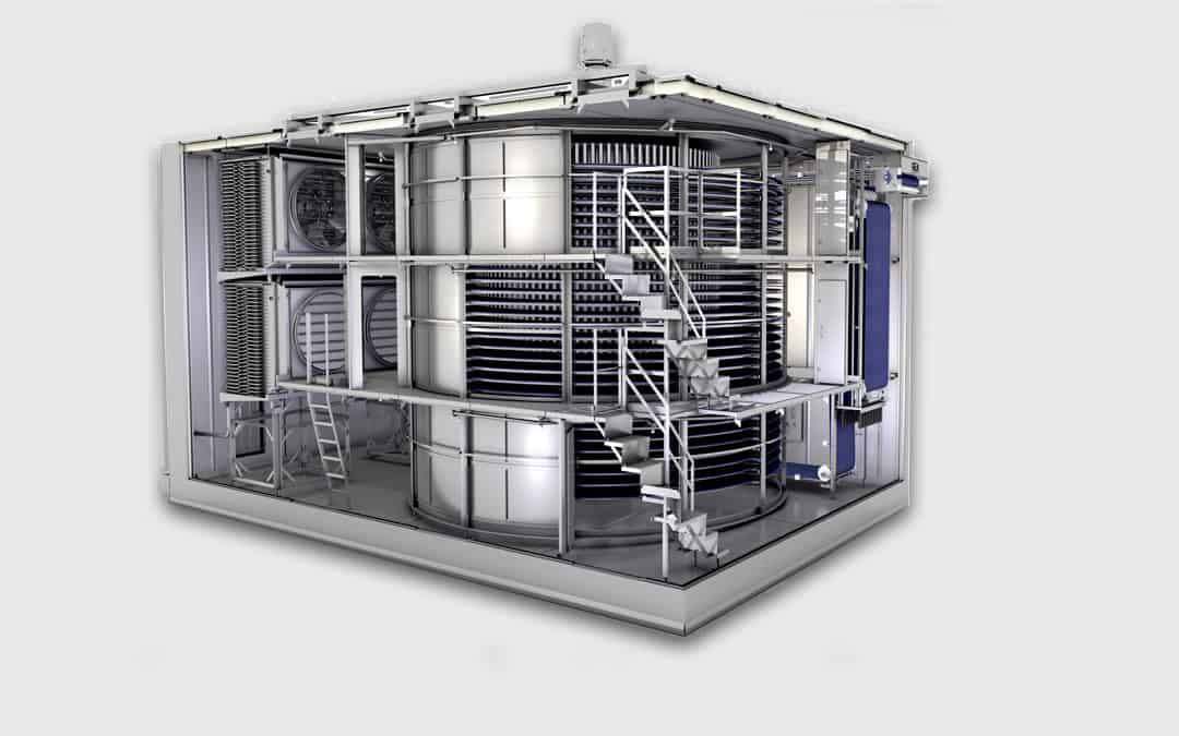 NEW Spiral Freezer & Food Equip From World's Largest Companies