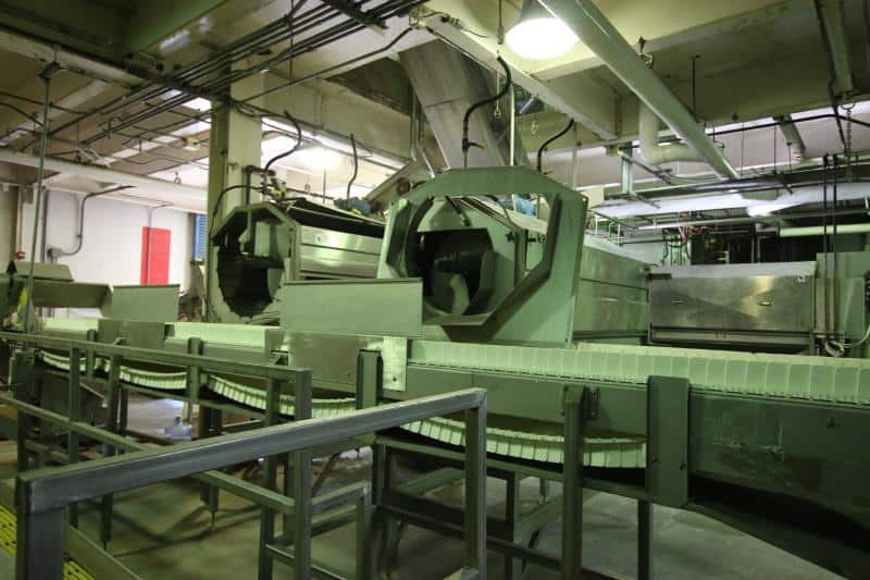 (2) Lyco Veggy Scrubbers, Model 8000 & 11000, 8 & 11 Brush