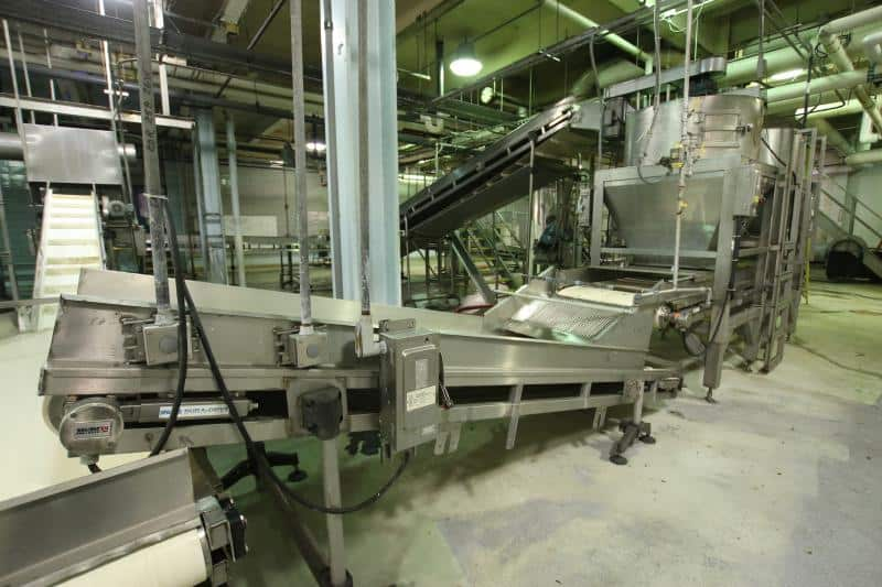 Outfeed Belt Conveyor 12' L x 3' W