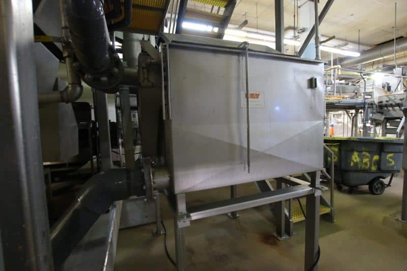 (3) Key Water Reclaim / Filter Units, Used to Remove Solids From Water Reclaimed After Processing Carrots & Sweet Potatoes