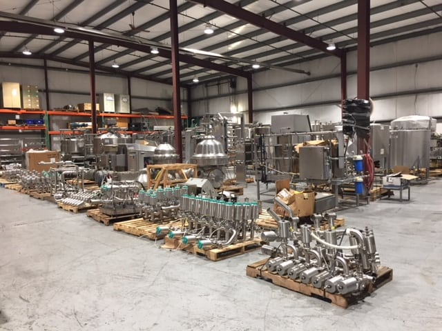 Dairy & Food Processing Equipment Auction Live at MDG Auction Showroom