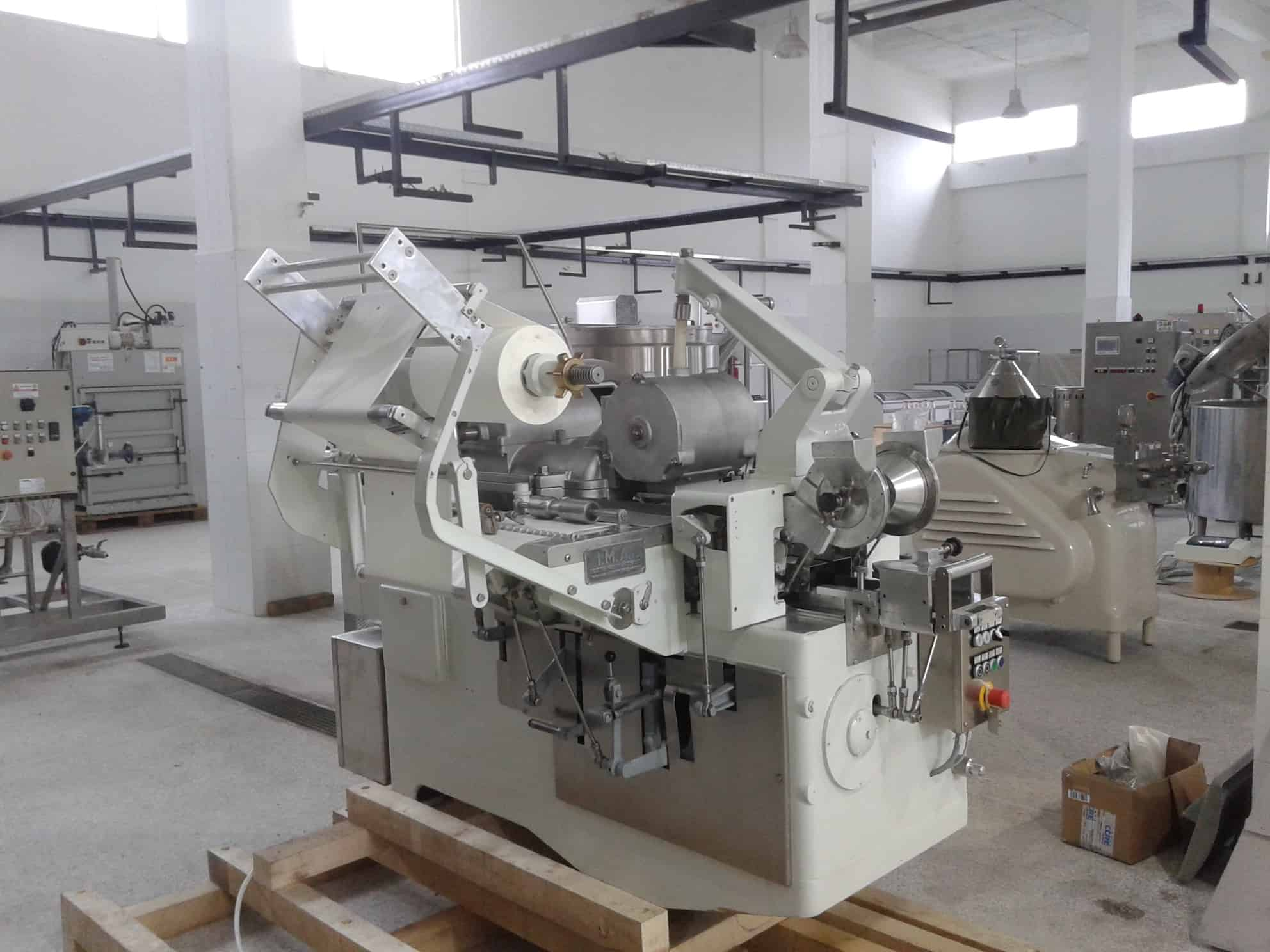 IMA Butter Packing Machine, 1800-2000 pcs/h, Filling Range 125-250 – 500 GR, Fully Refurbished