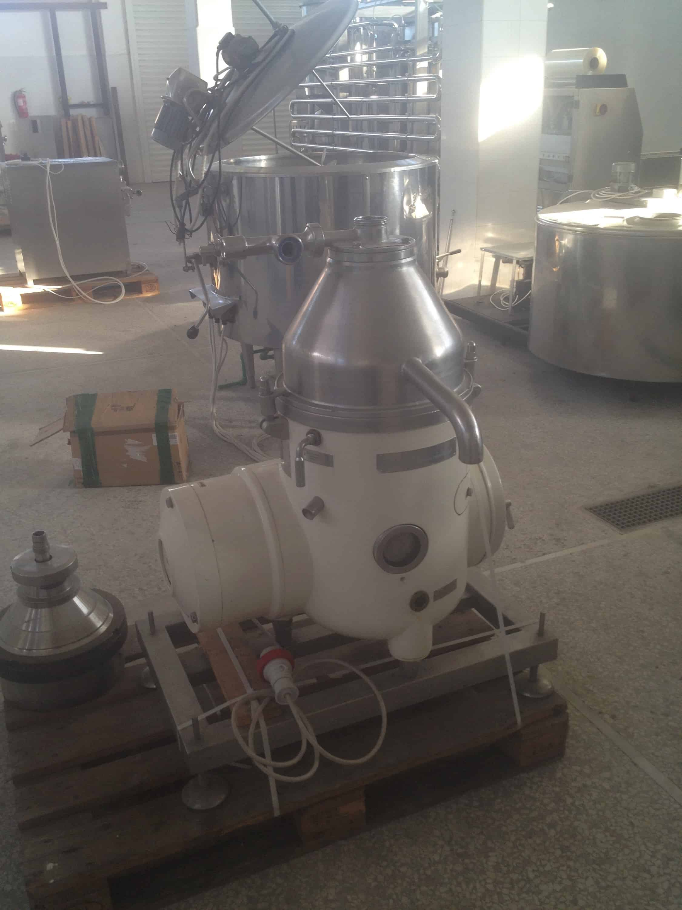 Westfalia Separator, 1000-1500 L, Recently Refurbished, Very Good Condition