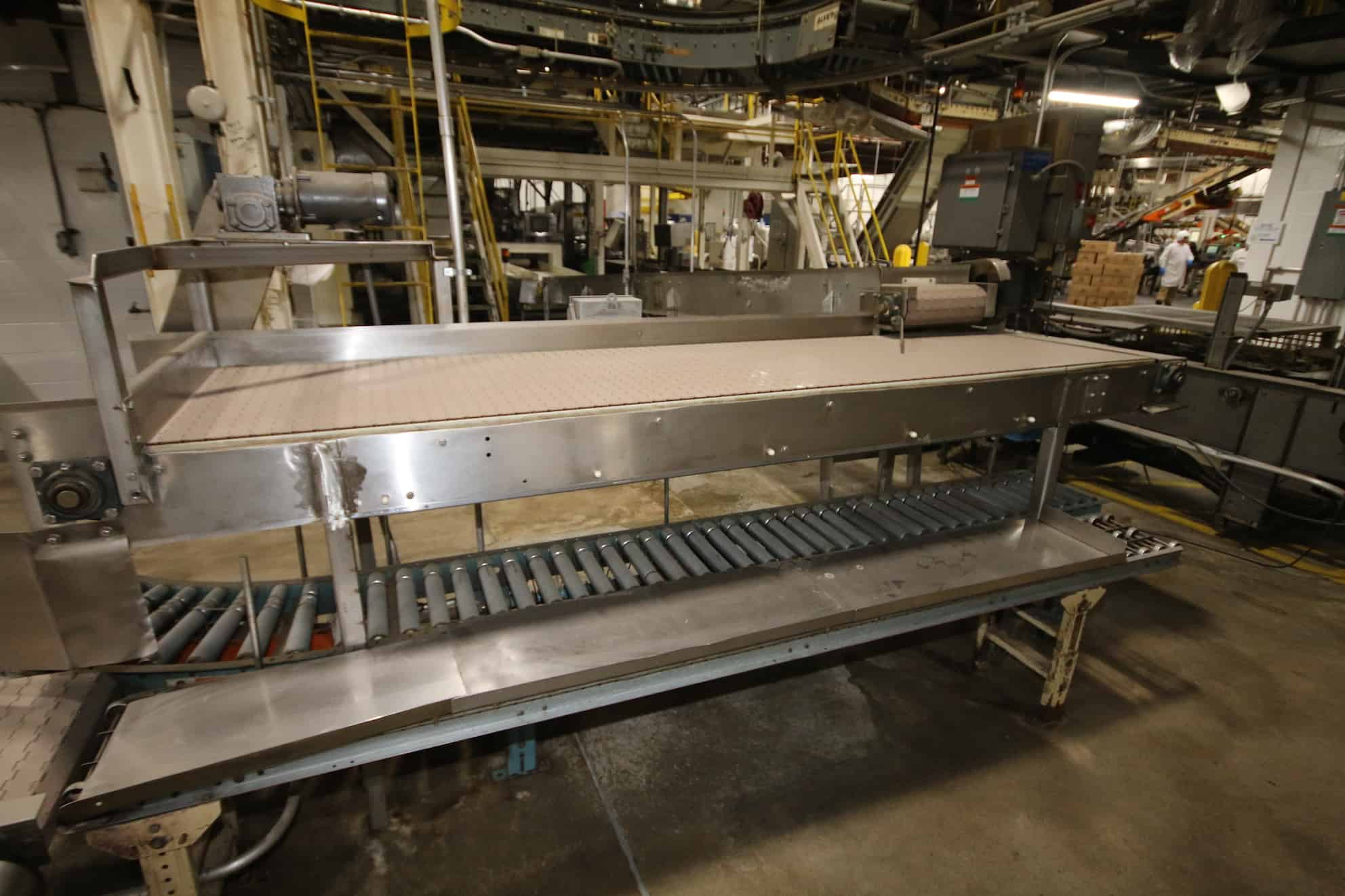 """Accumulation Conveyor (29.24"""" Wide x 120"""" Long) with S/S Frame and Drive"""