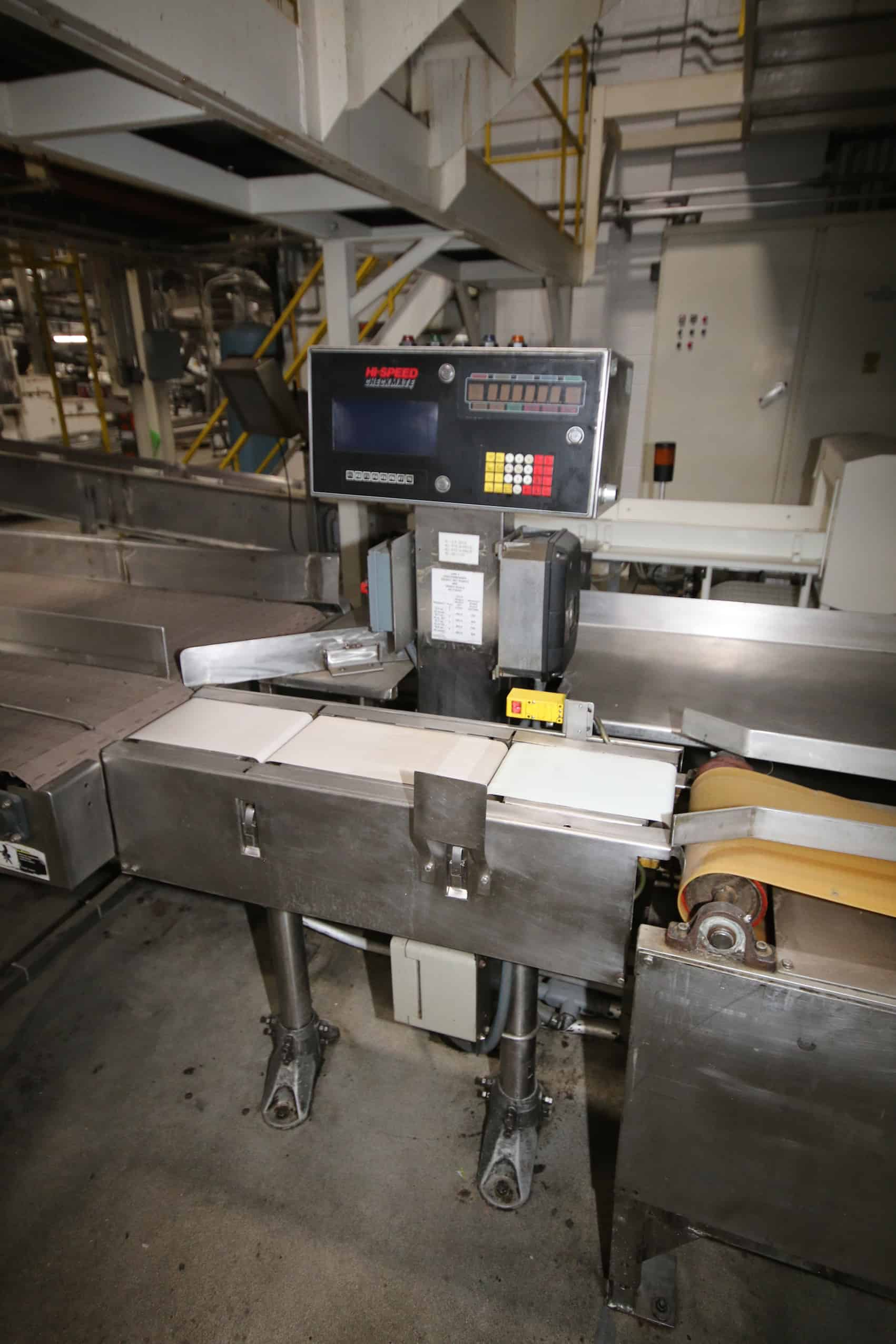 High Speed Checkmate Check Weigher, with Approx. 8″ W Conv. and VFD