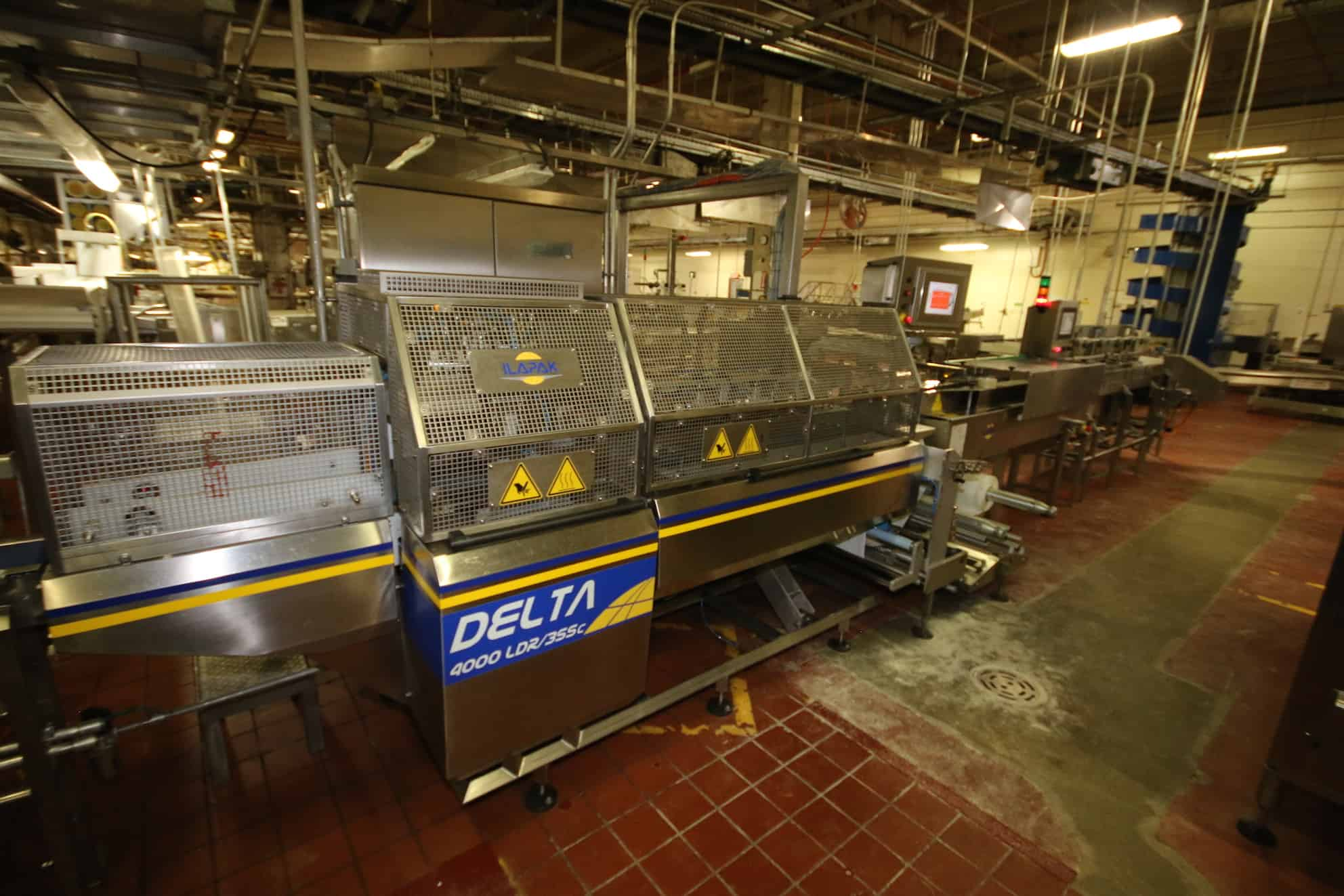 2013 Ilapak Flow Wrapper, Model #Delta4000DR/3SSC, S/N 06402990008 with Controls and Touchpad Display (Pancake Line #5)