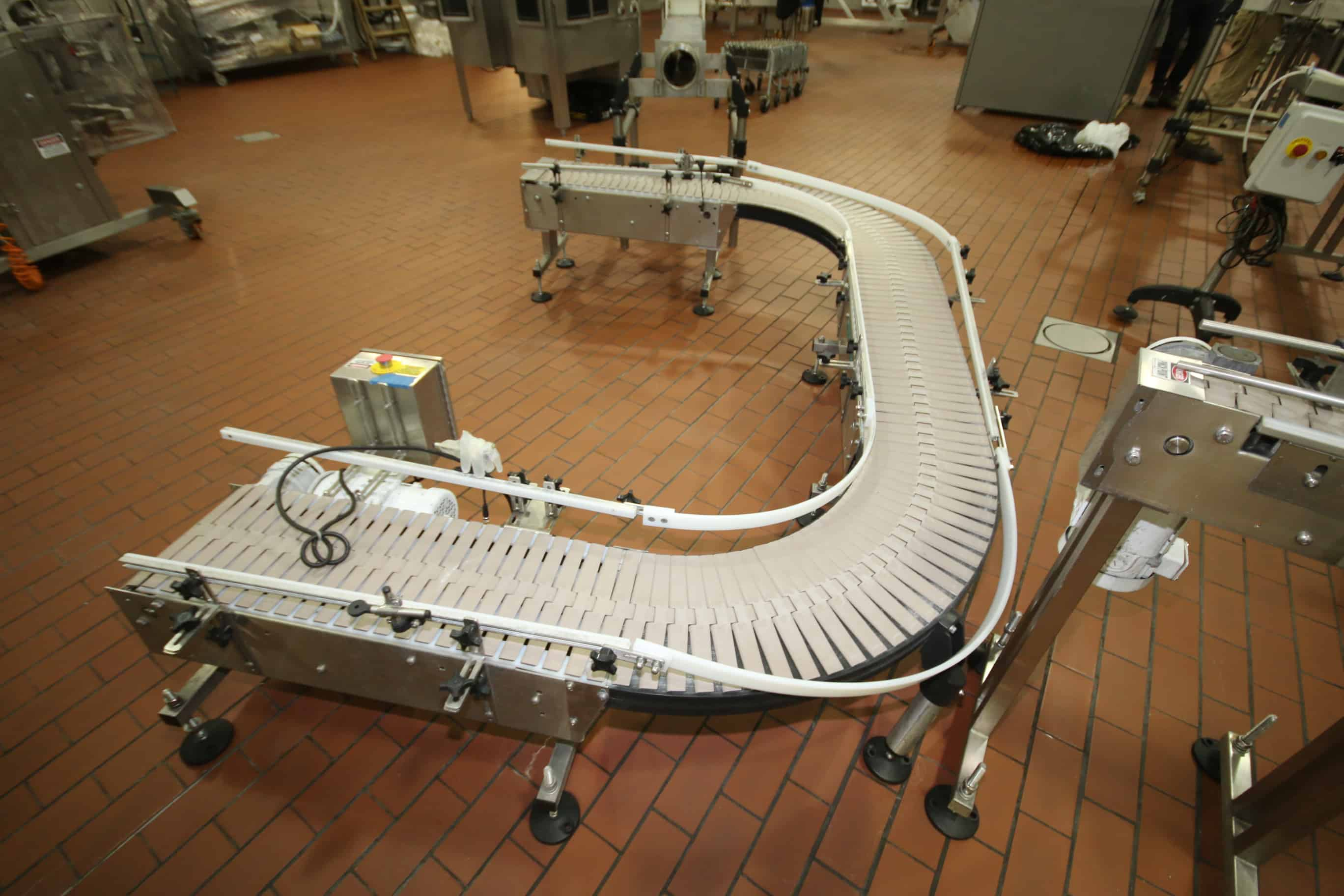 Assortment of S/S Product Conveyor System, 4.5″ & 12″W