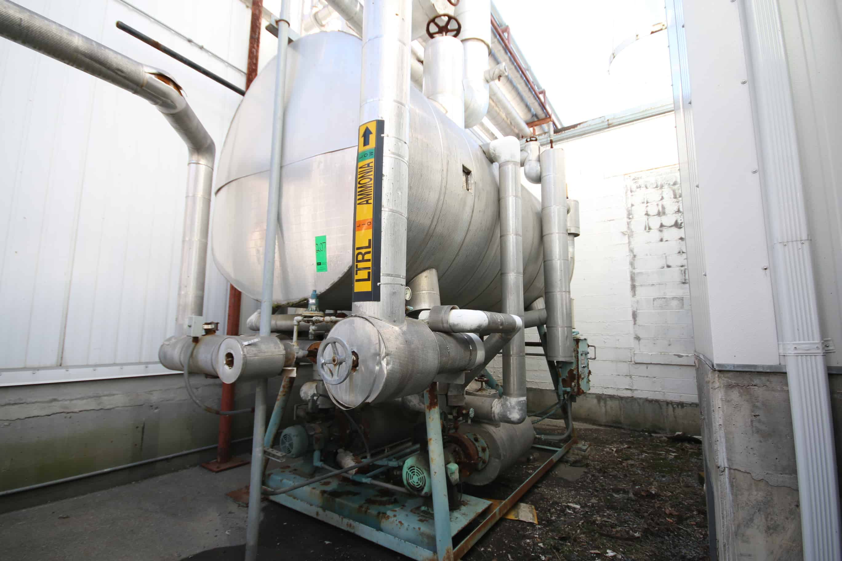 "Frick ~13 ft. L x 70"" W Horizontal Recirculation System, S/N 120391 with Pumps and Controls"