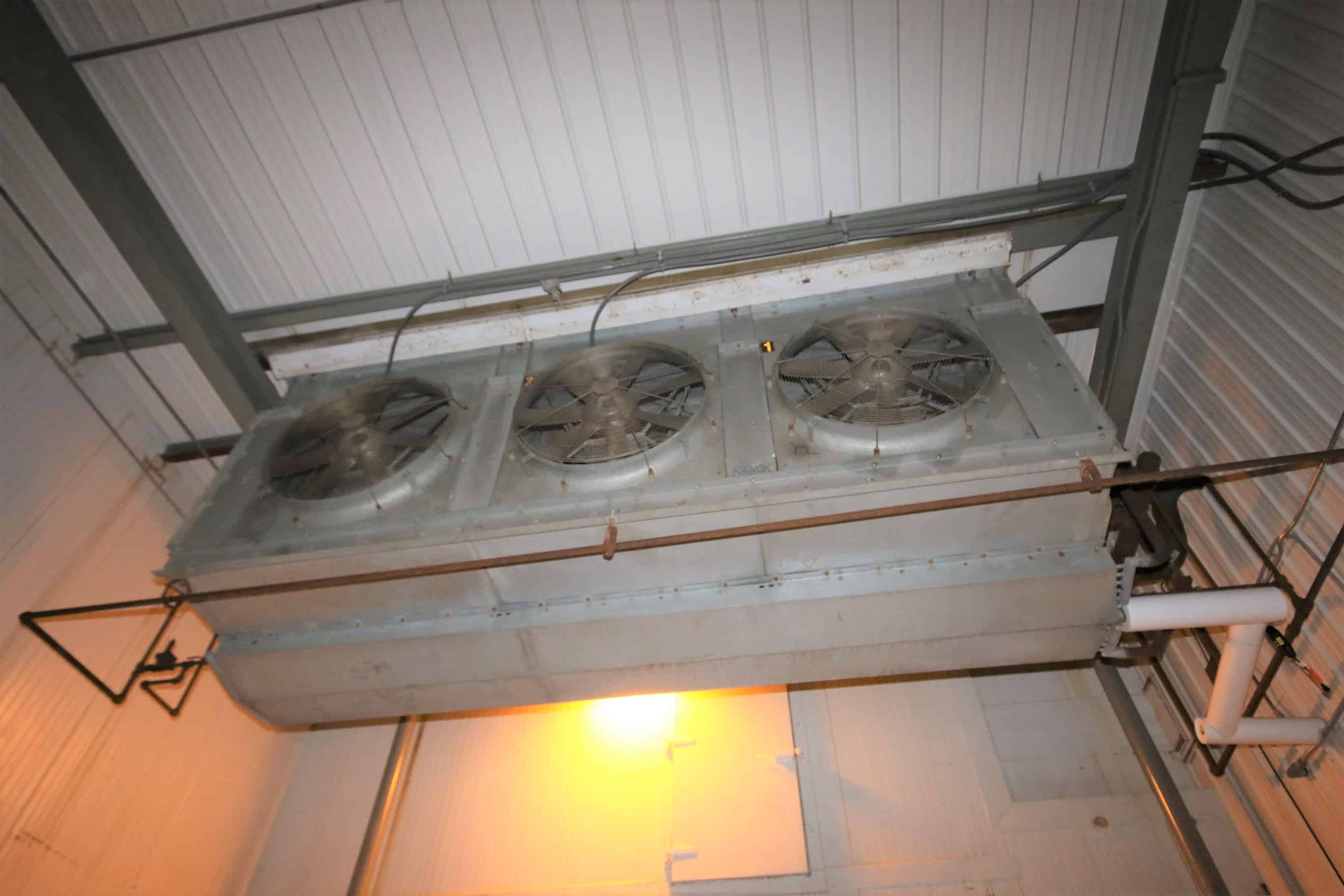 Krack 3-Fan Evaporator/Blower (Located In Vault Area)