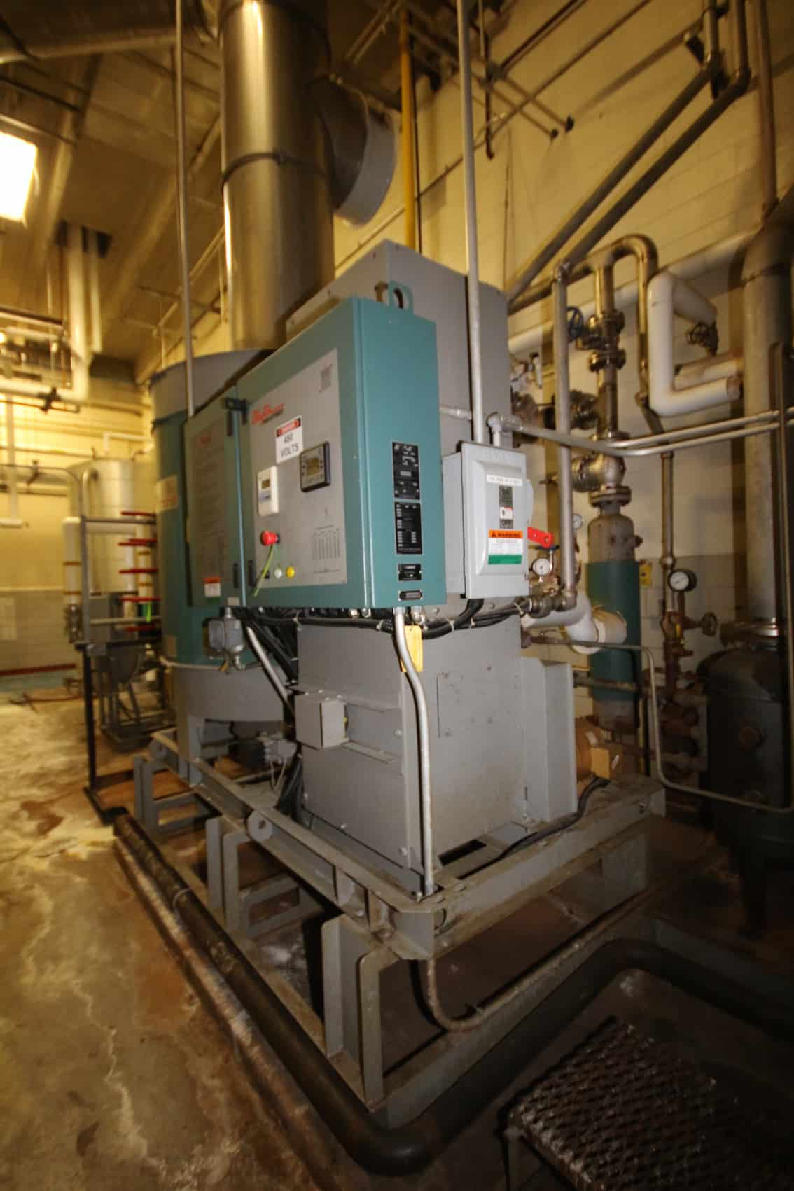 2011 Clayton Skid Mounted Steam Boiler, M/N EC-254-1-DZ, S/N 25047 - Clayton Skid Mounted Deaerator System with Water Softener