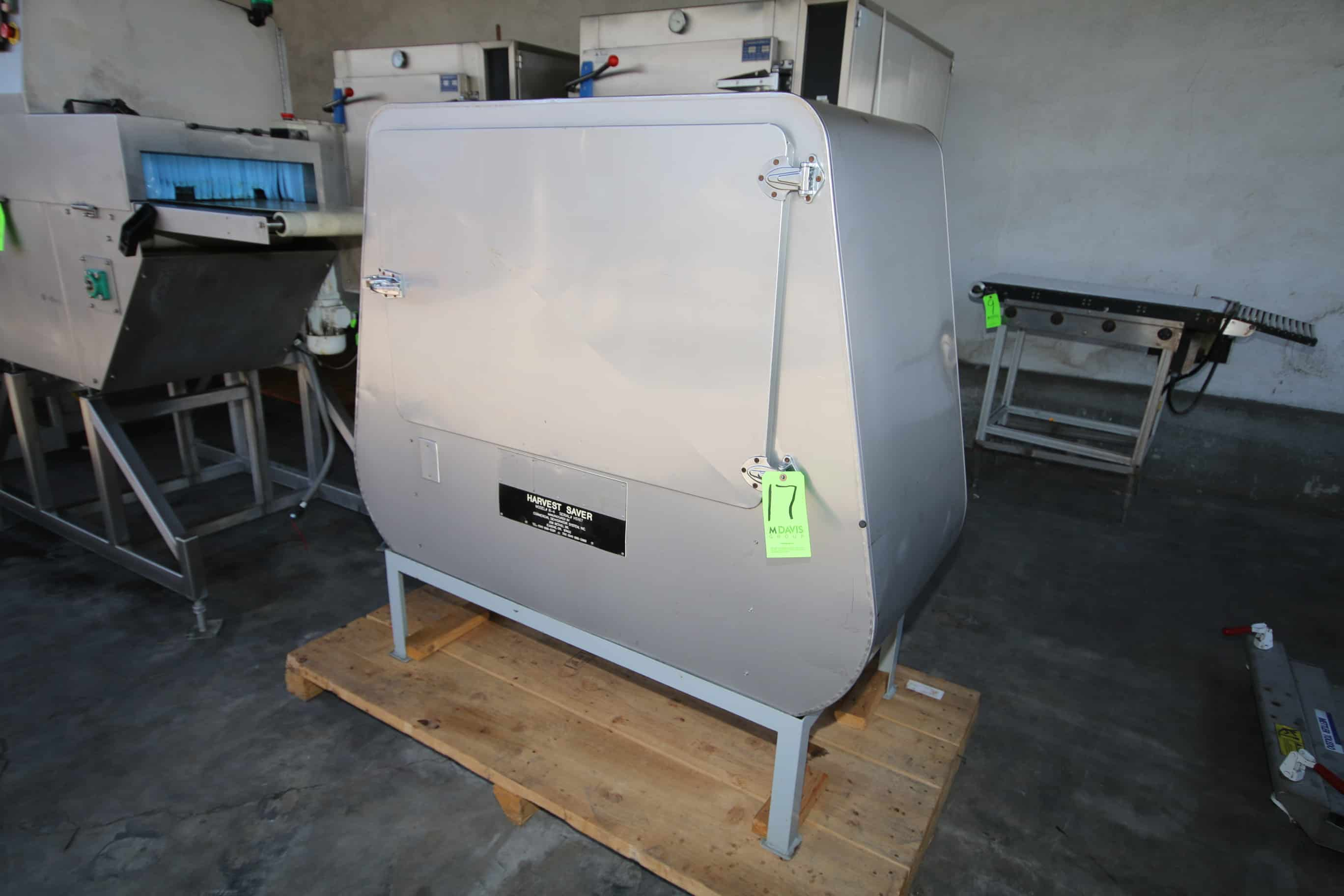 Harvest Saver Commercial Dehydrator System, M/N R-4, S/N HS 167, S/S Enclosure with Hinge Door, 15-Slot S/S Screen System