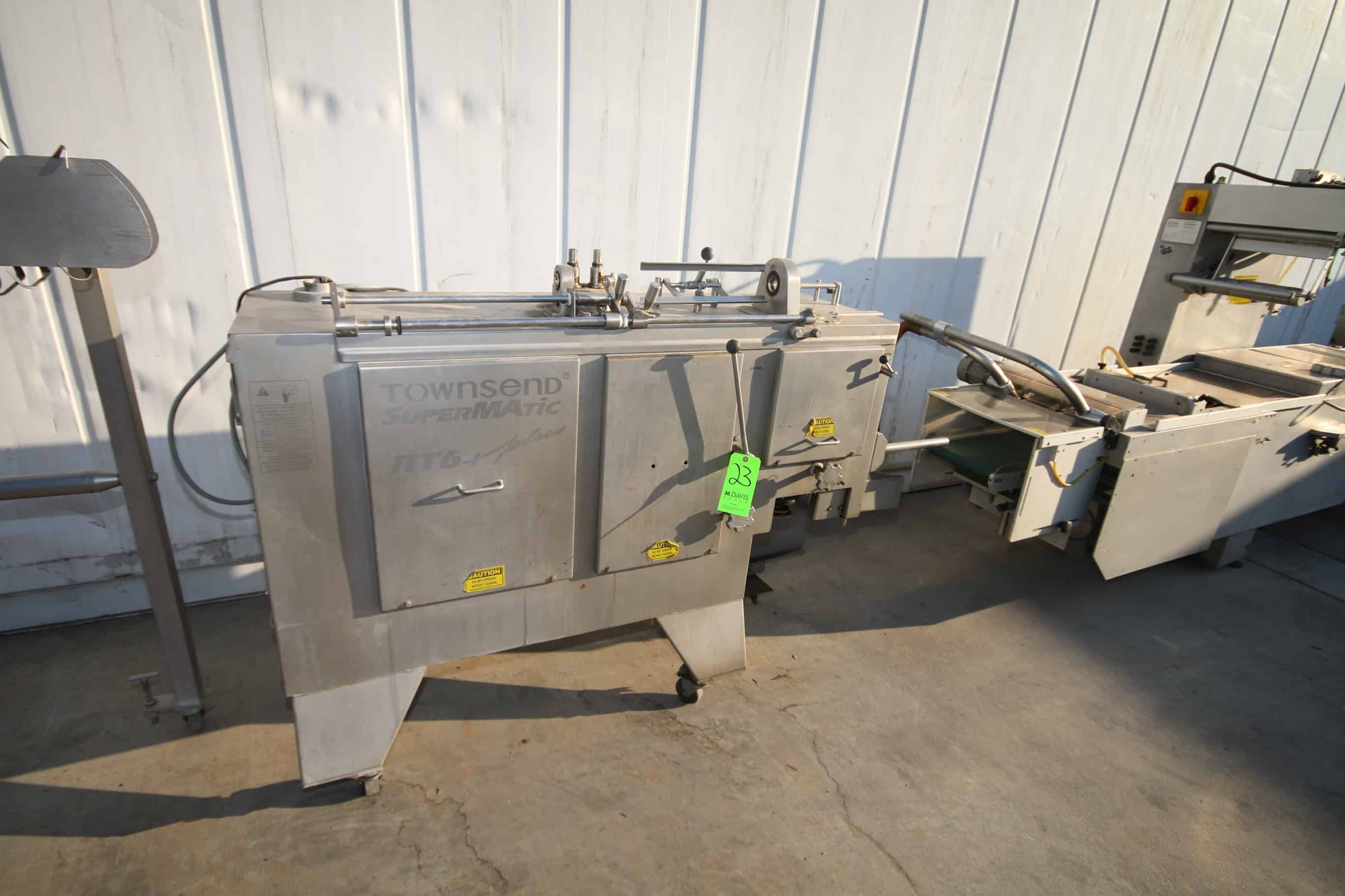 Townsend SuperMatic Linker, M/N RT6 Plus, S/N 264, 480 Volts, 3 Phase, 10 hp Drive, with Aprox. 7' L S/S Linker Belt