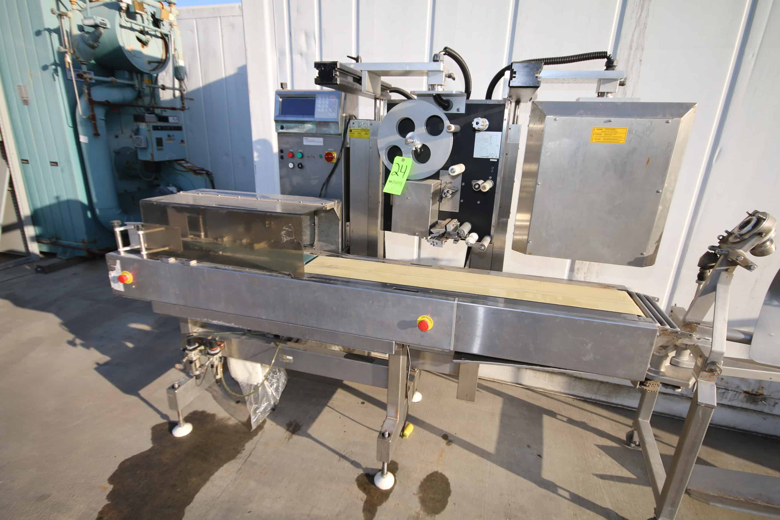 """S/S Checkweigher and Labeling System, with Aprox. 7' L Belt x 7-1/2"""" W Belt"""