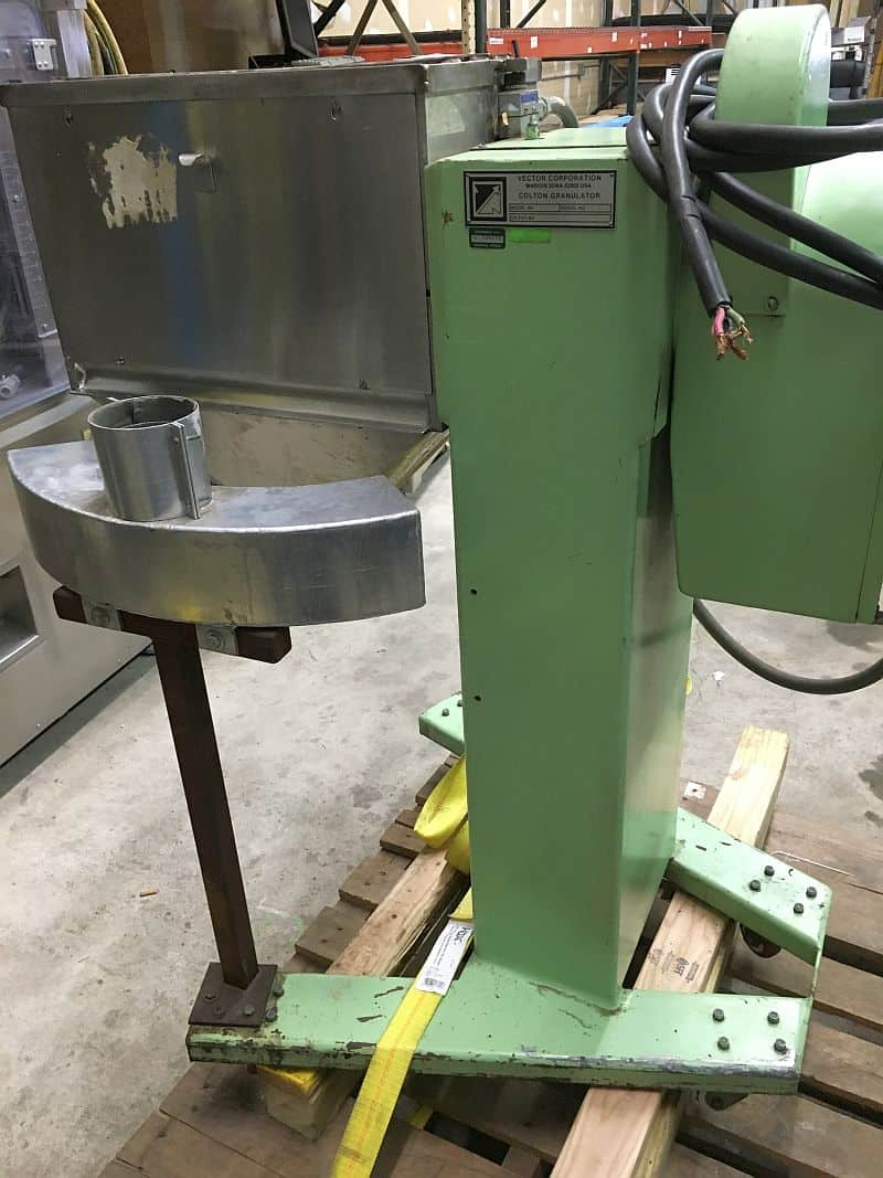 Vector-Colton Granulator. Model 542, Serial 40782, as shown in photos (Located in New York)***NYINC***