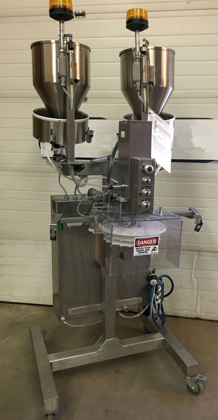 Omega Dual Canister Desiccant Feeder Model:  CDF-1D1, Serial: 94J18139, 120 Volts, 60 Hz, 1 Phase (Located in New York)***NYINC***