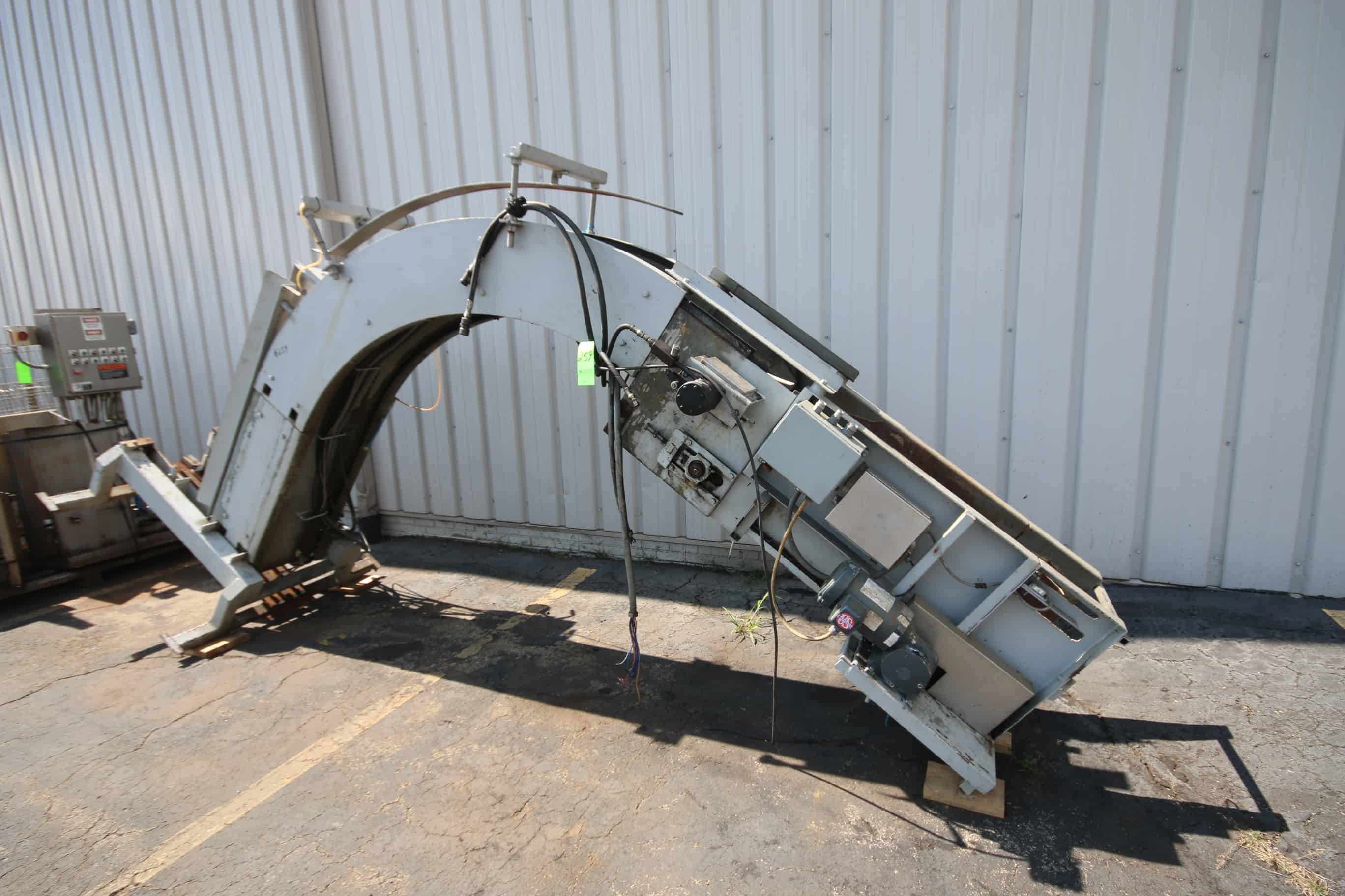 Aprox 11'H x 17'L Hydraulic Case Destacker with Idec Micro PLC Controls(Stock 153) (Located in Pittsburgh)***NUTRI***